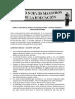 SOBRE EL CONCURSO DE INGRESO, PERIODO DE PRUEBA, VACANCIA TEMPORAL Y DERECHOS DE CARRERA