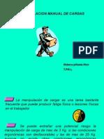 Manipulacion manual de Cargasx