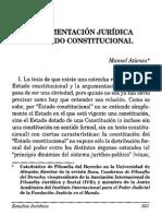 Argumentación Jurídica y Estado Constitucional Manuel Atienza