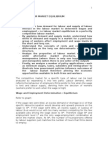 Labor Economics:The Demand for Labour in Noncompetitive Product Market