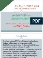 ANALISIS UU NO 7 tahun 2014.pptx