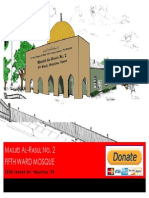 Fifth Ward Mosque Brochure Public