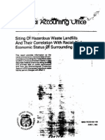 Siting of Hazardous Waste Landfills and Their Correlation with Racial and Economic Status of Surrounding Communities