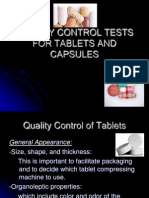 quality control tablet