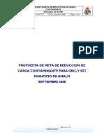 Propuesta Meta de Reducción Municipios