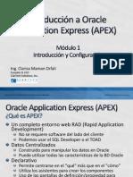Presentacion Introduccion APEX