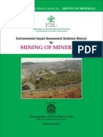 Mining Guidelines Manual for EIA Preparation