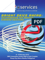 eServices Philippines 2010 Event Brochure
