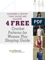 *Crochet eBook Nice Final Cm Sweater Shaping