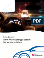 Intelligent Dew Monitoring System for Automobiles