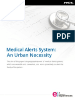 Alert Systems in Wearable Devices – An Urban Necessity