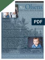 Olsen Newsletter December 2014