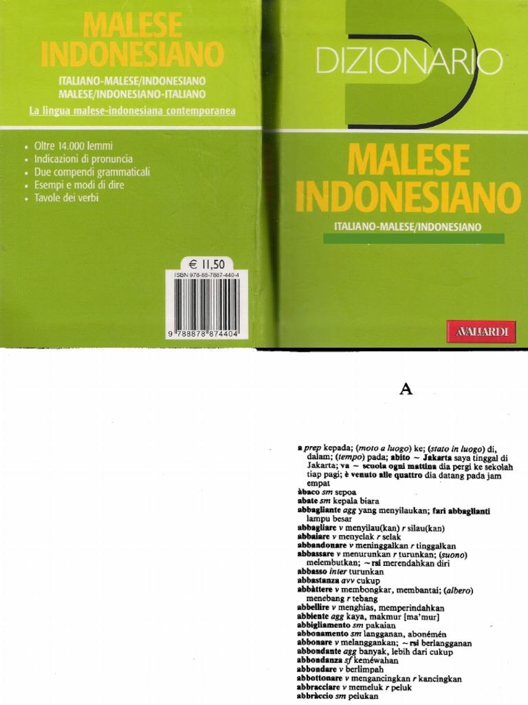 Dizionario italiano indonesiano ccuart Image collections