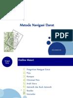 Metode Navigasi Darat