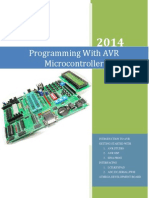 Programming with AVR Micro-controller