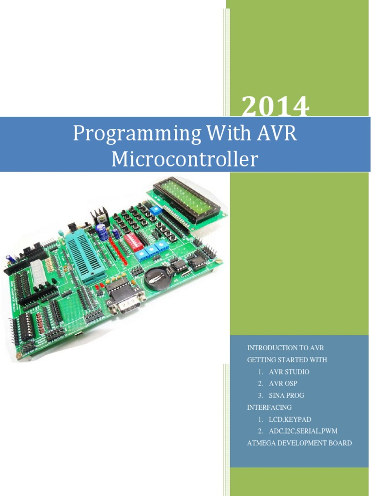 Programming With Avr Micro Controller Microcontroller Transistor Atmel Mcu Family Expanded
