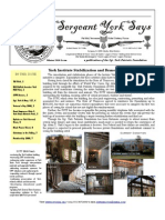 Sergeant York Says Newsletter (Winter 2010)