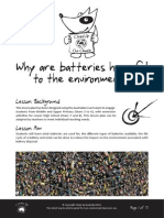 Why Are Batteries Harmful to the Environment