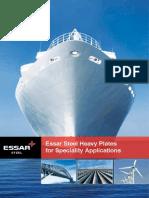 Essar Steel Plate Brochure 20101001