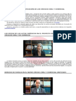 Proyecto Unificacion Código Civil Comercial
