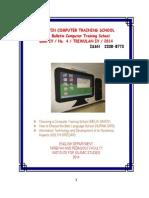 Bulletin Computer Training School01
