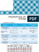 properties of steam