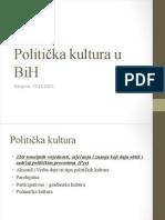 Politicka Kultura BiH