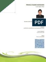 Prince Ramchandani CV