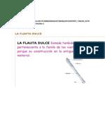 Webquest Sobre La Flauta