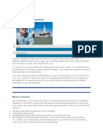 Offshore Drilling Worker