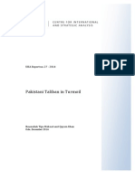 Pakistani Taliban in Turmoil - A Research Paper