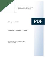 Pakistani Taliban in Turmoil - A Research Paper