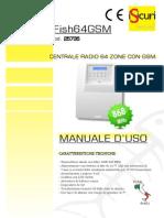 Manuale Rapido Utilizzo Centrale 64GSM