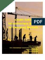 Credit Enhanced Infrastructure Bonds in Emerging Markets Book by Venu Prasath