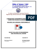 AMIE Lab Report Ravi Kumar