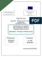 Rapport de Stage 2013 V05
