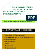 K - 20 Pemeriksaan Laboratorium Pada Neonatus (Patologi Klinik)