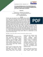 Preparasi Dan Karakterisasi Katalis Heterogen Arang Aktif Tersulfonasi Untuk Proses Hidrolisis Selulosa Menjadi Glukosa