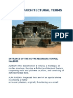 indian architectural terms