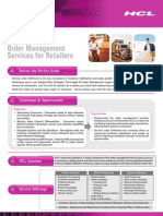 Multi-Channel Order Management Services for Retailers