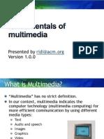 1 Multimedia Foundations