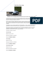 Recall Atinge Chevrolet Cobalt