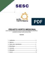 Projeto Horto Medicinal