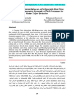 Design and Implementation of a Configurable Real-Time FPGA-Based Geometric Symmetry-CFAR Processer for Radar Target Detection