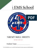 Uscg Nremt Skill Sheets