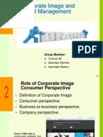 Corporate Image & Brand Mgt