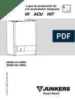 Manual Caldera Junkers Eurostar