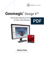 GeomagicDesignX 5.0.0.0 Whats New