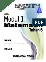 Cover Modul Thn 6 2014