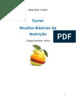 Curso basico nutrição